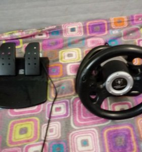 Руль и педали для PlayStation 2