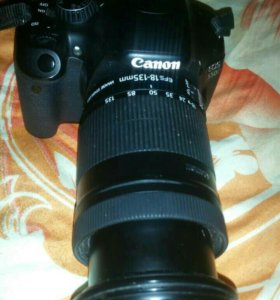 Фотоаппарат Canon 550 D (объектив 18-135)