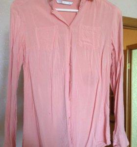 Блузка нюд