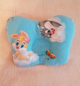 Ортопедическая подушка-бабочка для малышей