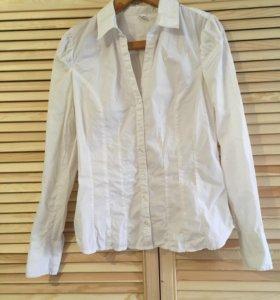 Белая рубашка zolla