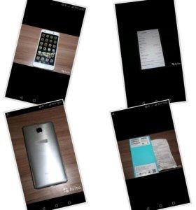 Смартфон Huawei Honor 5C серебристый