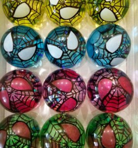 Светящийся резиновый мячик -попрыгунчик