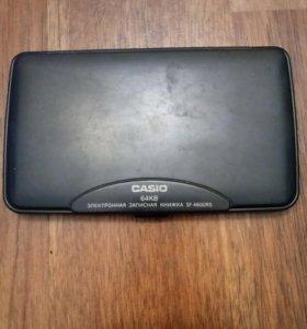 Электронная записная книжка Casio на 64KB
