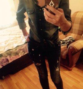 Рубашка джинсовая Imperial оригинал 🇮🇹