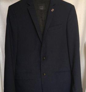Пиджак мужской Zara (slim fit)коллекция BAsic