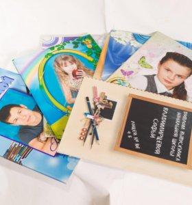 Изготовление выпускных фотоальбомов