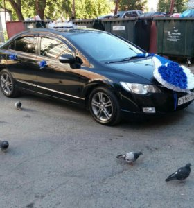 Свадьба украшение на машину