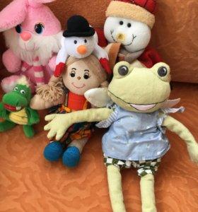 Мягкие игрушки Зайка