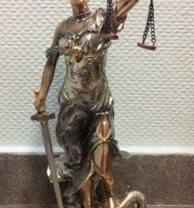 """Статуэтка """"Фемида-богиня правосудия"""""""