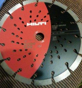 Алмазный диск Hilti 230мм по армированому бетону