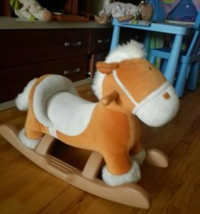 Лошадка-качалка Kiddieland