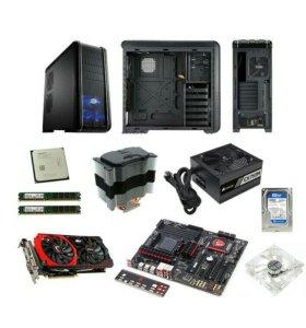 Системный блок, игровой компьютер 8 ядерный AMD