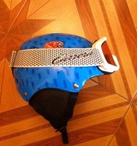 Защитный шлем, очки