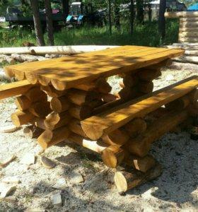 Рубленный стол