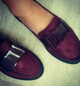 Лоферы осенняя обувь