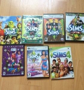 Sims 3; 4
