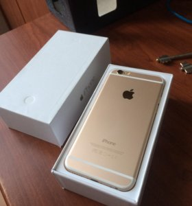 iPhone 6 16gb gold оригинал