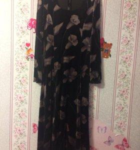 Платье в пол 48-52