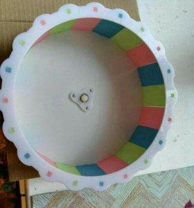Колесо для грызунов. 23 см диаметр.