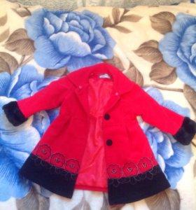 Пальто с платьем