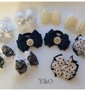 Красивые банты и повязки для девочек.