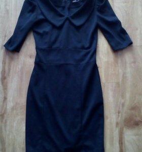 Классическое черное платье новое