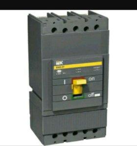 Выкл . автомат. трехполюсный IEK ВА88-37 250А