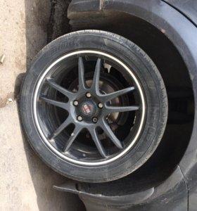 Диски, колёса, шины