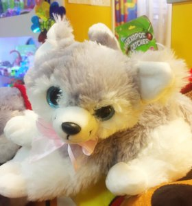 Хаска - щенок мягкая игрушка