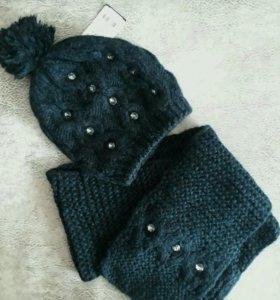 Новый шарф и шапка