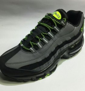 ☝Кроссовки Nike 95 Deep Grey and Green