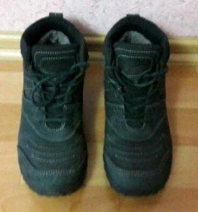Мужские зимние ботинки. В отличном состоянии. Торг