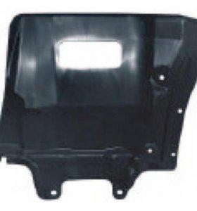 Защита двигателя пыльник арки левый MR974865