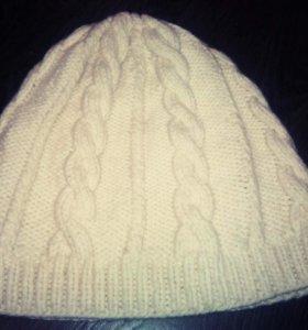 Супер теплая шапочка..ручная работа