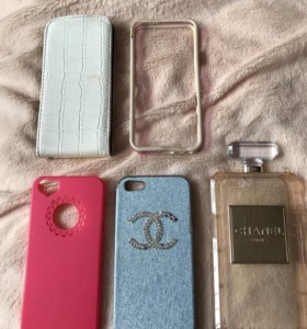 Чехлы, трусы, заглушки для iPhone 5, 5s, SE
