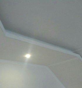 Потолки стены с гипсокартона