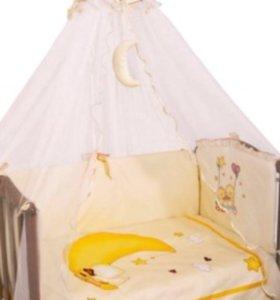 Детское постельное белье 7 предметов