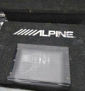 Сабвуфер Alpine комплект