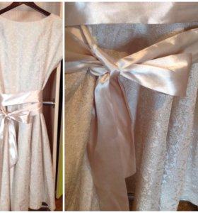 Красивое дорогое платье 44-46