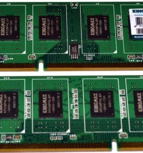 Kingmax 2 x 4Gb DDR3 1333Mhz (9-9-9-24) 1.5V