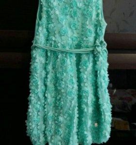 Платье коктельное на девочку.