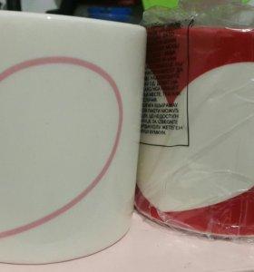 Кружки Avon с маркером