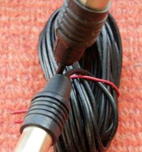 телевизионный кабель антенный удлинитель 5 метров