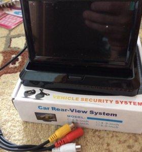 Продам монитор для камеры заднего вида