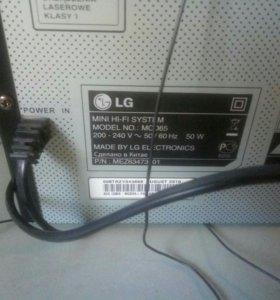 Муз.Центр LG MCD65