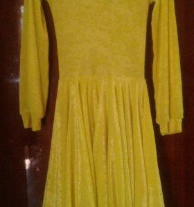 Спортивное бальное платье для детей