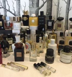 Распив селективной/нишевой парфюмерии