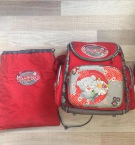 Рюкзак школьный + мешок для обуви