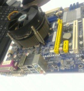 Мать Foxconn H55MXV s1156 + Проц i3 530 2.9 Ghz